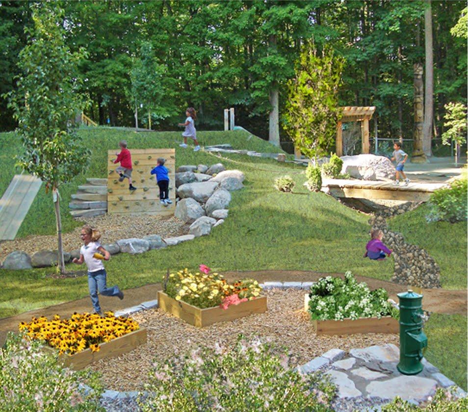 Backyard Nature Playground : NaturalPlaygroundbyTheNaturalPlaygroundsCompanyjpg