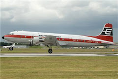 Douglas DC6  Farnborough 2008