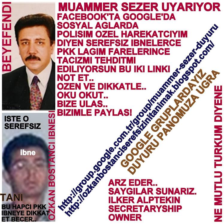 ÖZKAN BOSTANCI,CIHAN TURK OLSUN ANANIN AMINA GOTUNE KOYSUN IBNE
