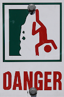 Danger! Cliff!
