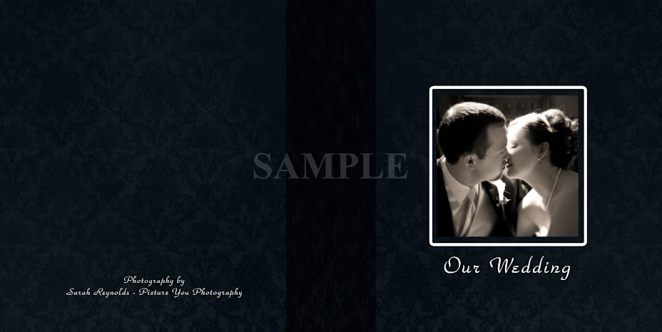 Wedding Album Cover Samples. Storybook Wedding Album Sample