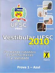 PROVA UFSC 2010