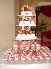 KELAS DECO 3 TIERS WEDDING CAKE