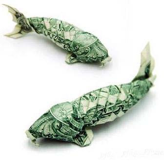 Lonewolf Sharing: Cool Animal Money Origami