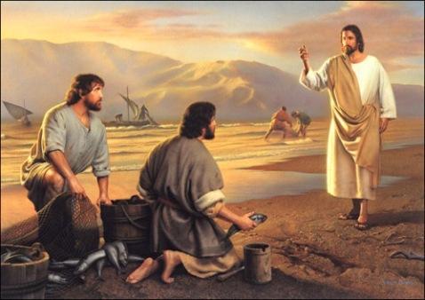 Piav txog lub Koom Txoos rau cov me nyuam yaus Jesus_call