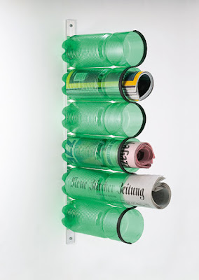 Revistero de Botellas recicladas