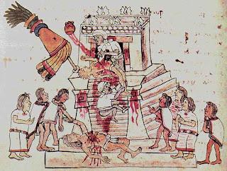 """Raúl acusa a Obama de tentativa de """"desestabiliziación"""" y... Azteken-Menschenopfer"""