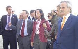 VISITA DE LA MINISTRA DE VIVIENDA A CEUTA