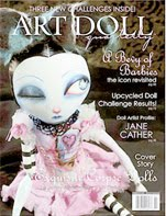 Featured in Art Doll quartery Magazine spring 2010: