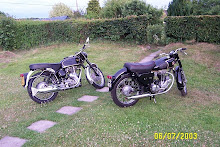 Velo 500 and Matchless 350