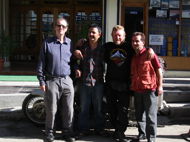 Our Friends from Hotel Tsomo-ri, Leh.