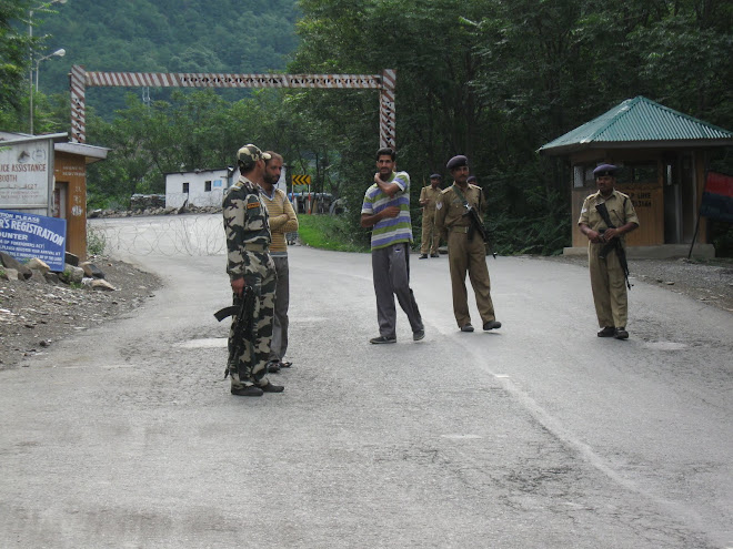 Road Closed by the Indian Army