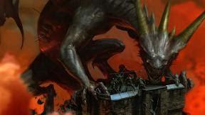 dragon monster wallpaper