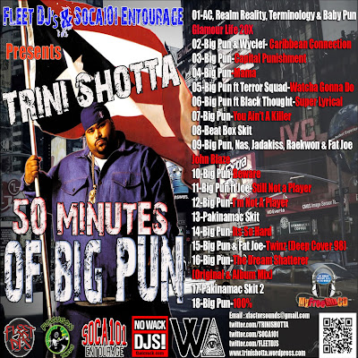 [The Fleet Djs] New Post : Trini Shotta-50 Minutes Of Big Pun