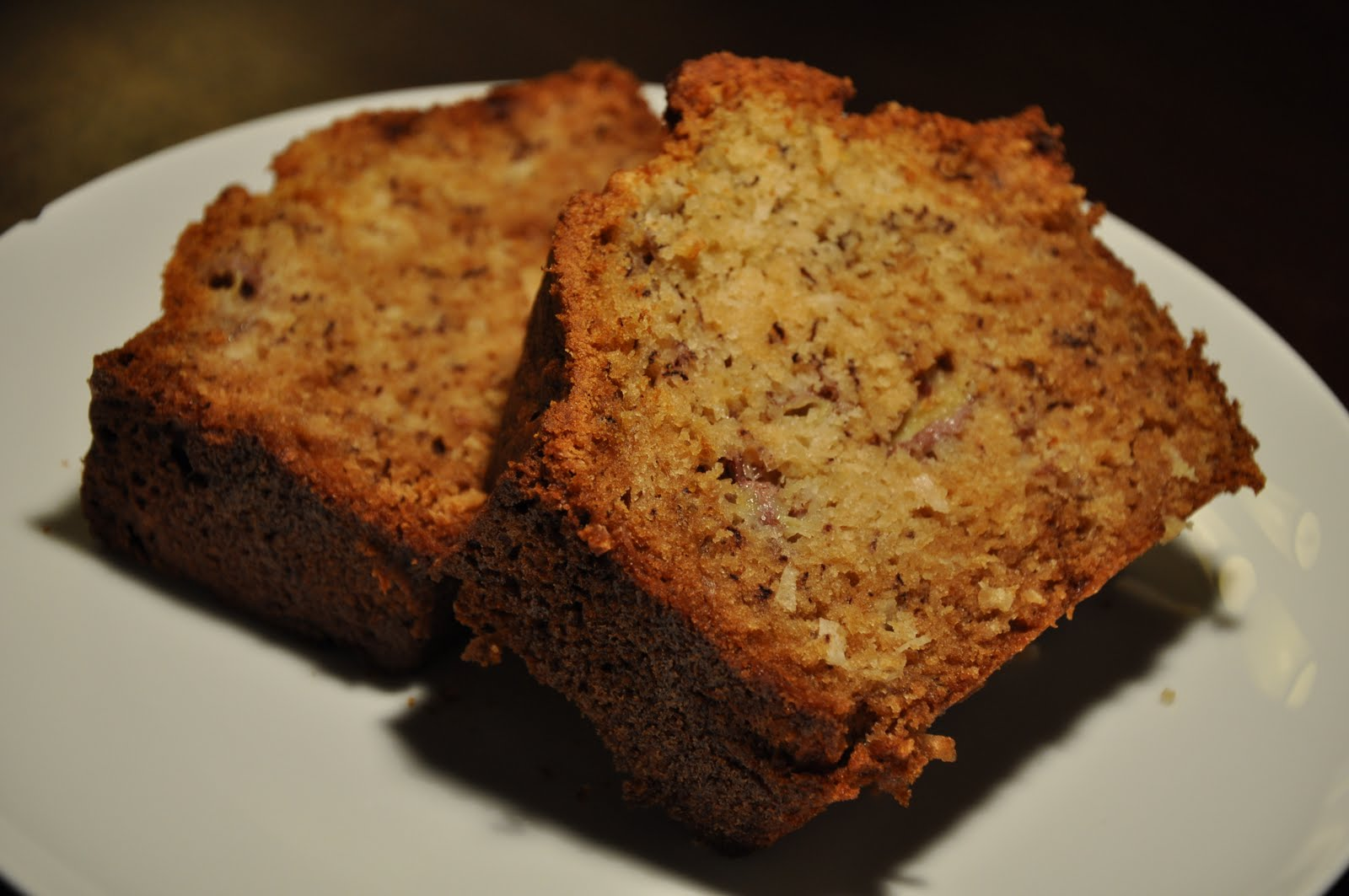 ... cream chocolate chip banana bread the other day i had a few bananas