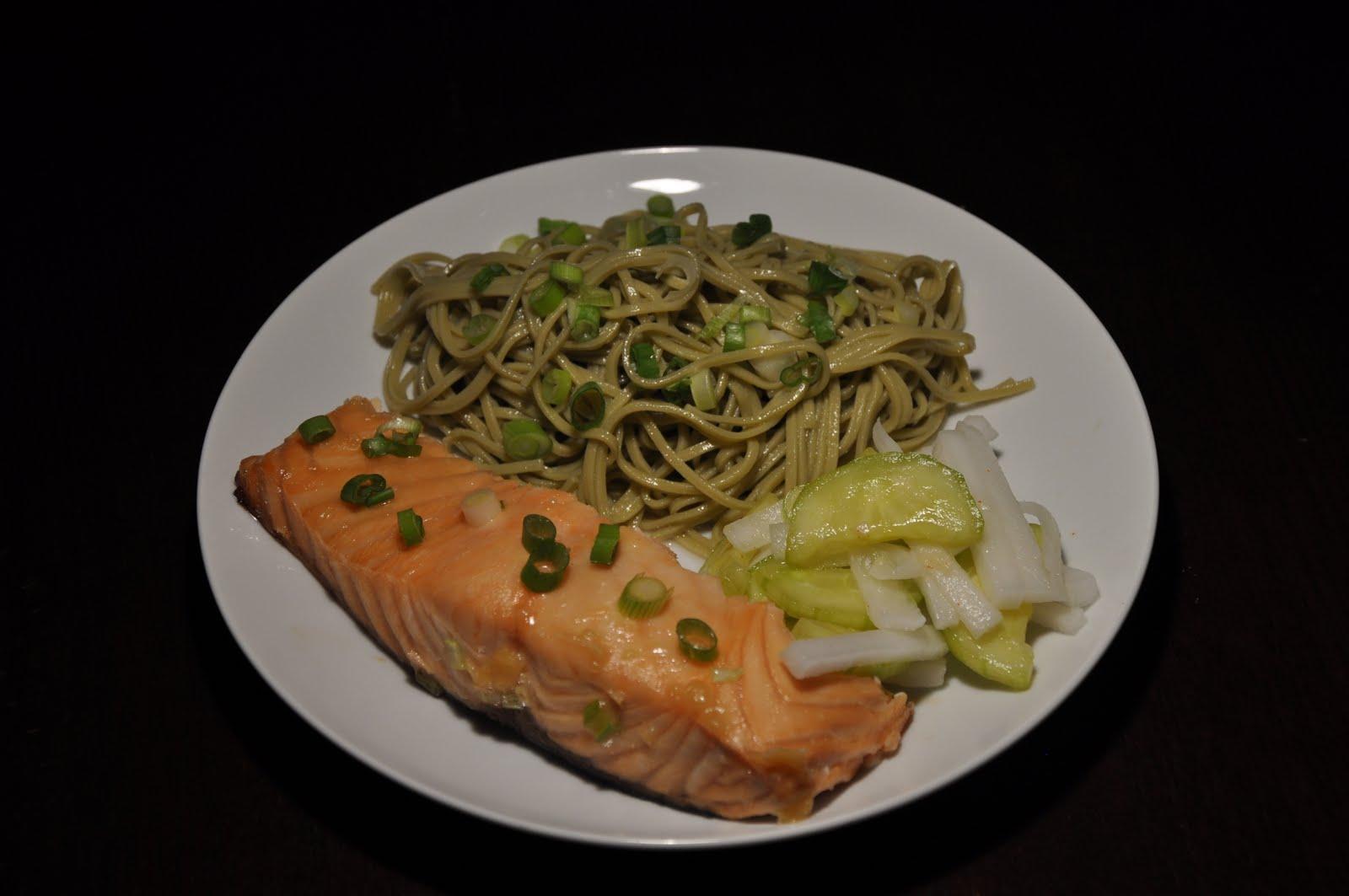 How to Make TeaMarinated Salmon foto