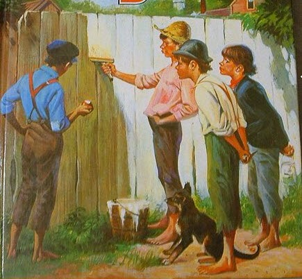 The Friendship of Tom Sawyer and Huckleberry Finn