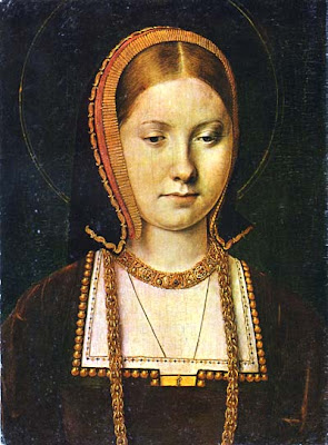 Catherine of Aragon as painted by Michael Sittow