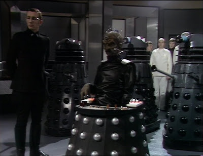 Davros and the first Daleks