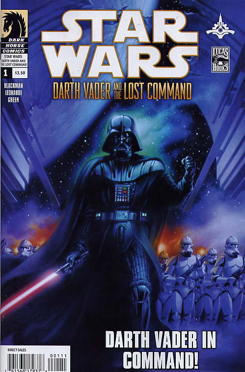 Star Wars: Darth Vader & The Lost Command # 1. Dark Horse Comics