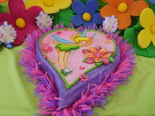 Tortas infantiles campanita - Imagui