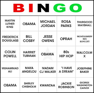 Bingo Veterans Name Card