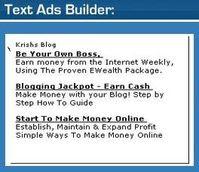 ClickBank's Hop Text Ad Builder