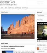 iBizPress Tech Wordpress Theme Download