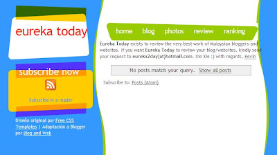 eureka today blog website review blogspot