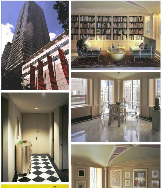 Real estatexx phillip johnson manhattan pied a terre for Pied a terre manhattan