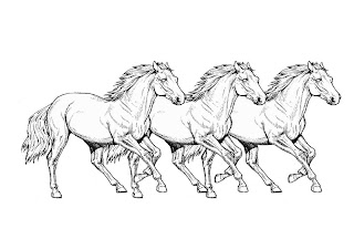 Horse Coloring Pages on Horse Coloring Pages Horses Coloring Pages Free Horse Coloring Pages