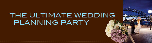The Ultimate Wedding Planning Party
