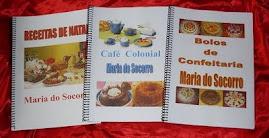 Tenho apostilas de Bolos de Confeitaria, Café Colonial e de NATAL são Receitas e Dicas imperdiveis!