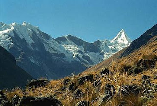 Andrean Mountains in Peru