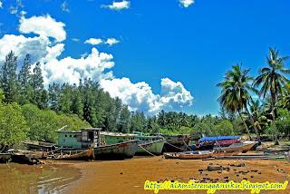 gambar pantai marang di terengganu