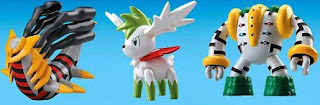 Pokemon Models Movie 11th Version Bandai