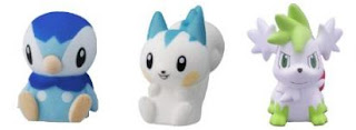 Pokemon Talking Plush Palm Top Size Tomy