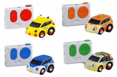 Pokemon Q Steer Car Tomy