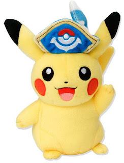 Pikachu Pirate Plush PokemonJP