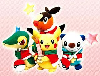 Pokemon BW Plush 2010 Christmas ver. PokeCenJP