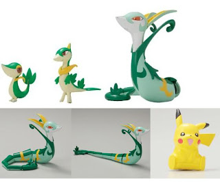 Pokemon Plamo Collection Jalorda Evolution Set Bandai