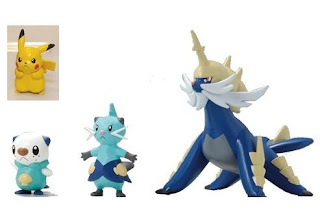 Pokemon Plamo Collection Daigenki Evolution Set Bandai