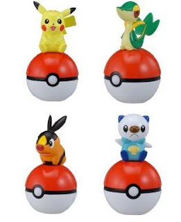 Pokemon Figure Radio Wave Inform Mascot (Tomy)