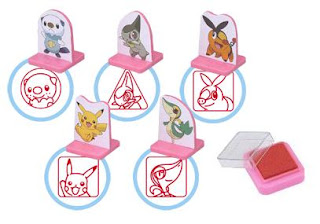 Pokemon Stamps Youchien Shogakukan
