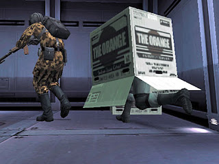 Solid Snake has only two natural enemies: Metal Gear, and Solid Badger.