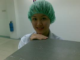 Me in lab attire