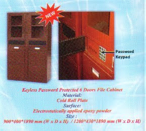 Pasword Protected Cabinet