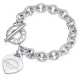 Tiffany & Co Heart Tag Toggle Bracelet