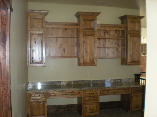 Knotty Alder Kitchen