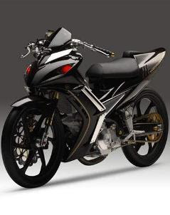 Yamaha Jupiter MX Modifikasi Racing Style